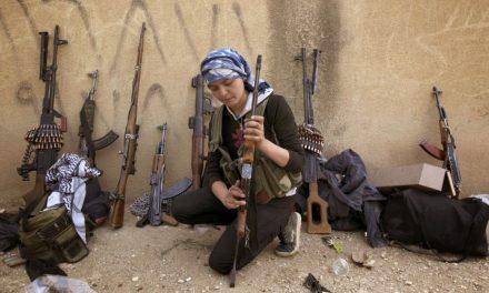 تقدیس زنان مسلح کوبانی: خدمت به گفتمان جنگ!