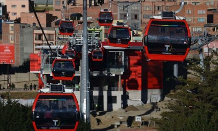 نگاهی به خط تلهکابین مسافربری شهری در بولیوی