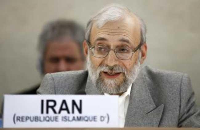 محمد جواد لاریجانی در ژنو: ایران به سرکوب همجنسگرایان افتخار می کند
