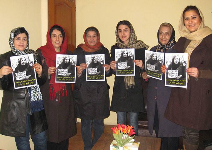 نشست کانون شهروندی زنان در اعتراض به ادامه بازداشت غیرقانونی «مهدیه گلرو»