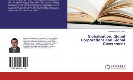 رونمائی کتاب «جهانیسازی، شرکتهای جهانی و دولتهای شرکتی»