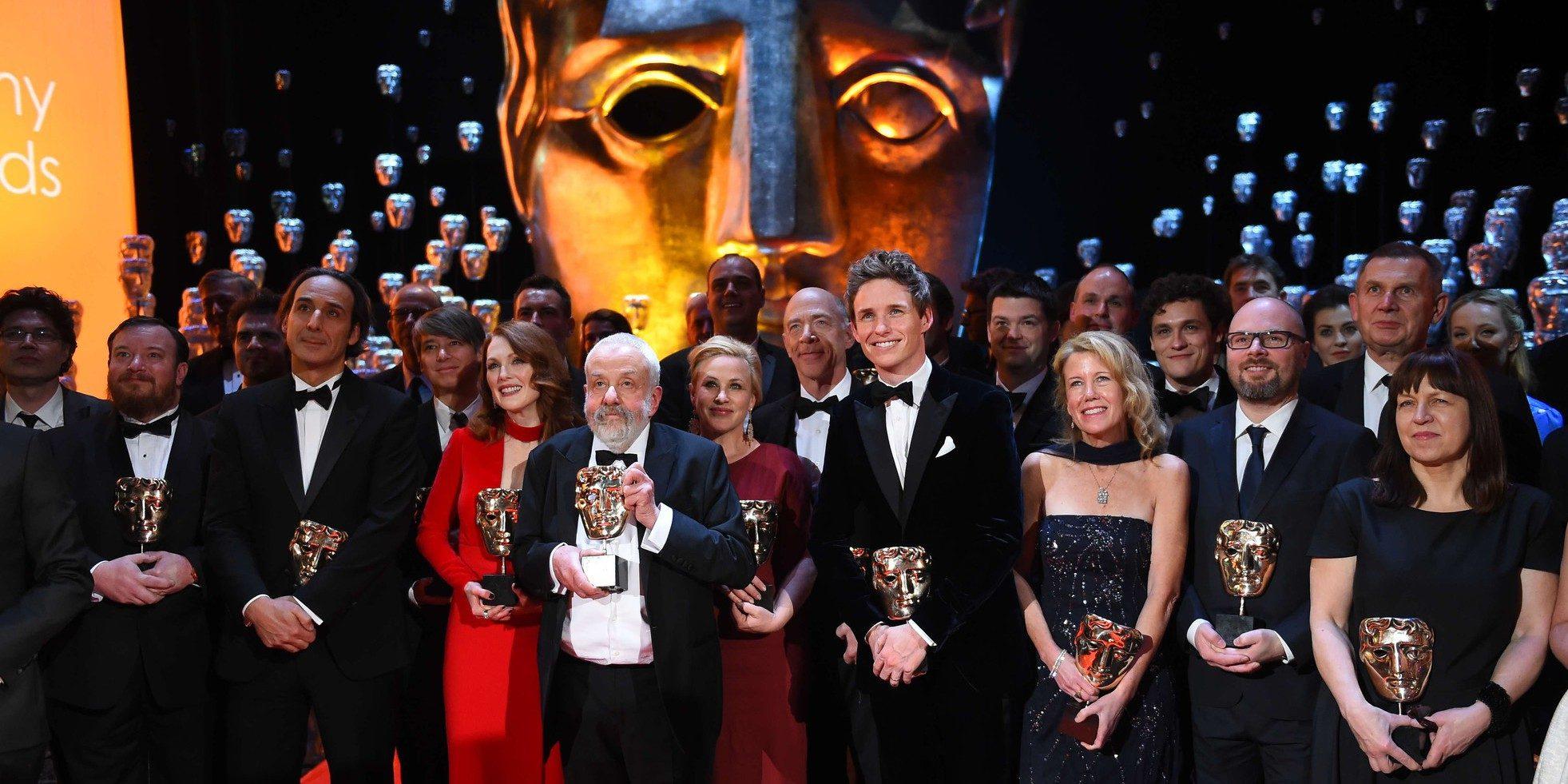 Britain BAFTA 2015 Winners