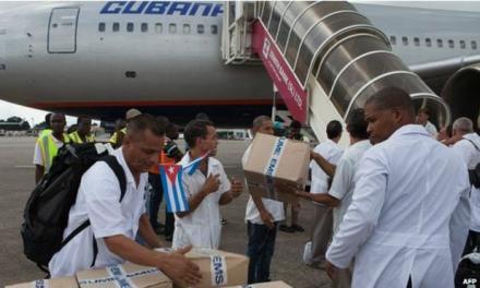 تیم پزشکی کوبا در آفریقا نامزد پیشنهادی جایزهٔ صلح نوبل