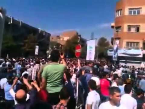تظاهرات مردم تهران؛ سوریه رو رها کن، فکری به حال ما کن