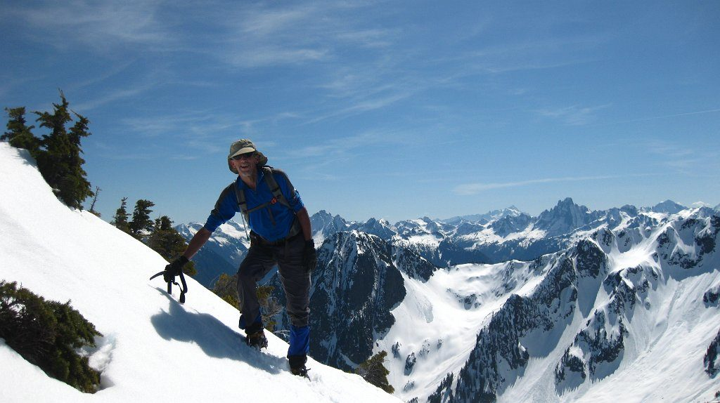 Conway Peak British Columbia صعود به قله کانوی