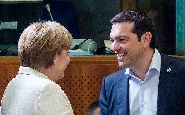 Alexis Tsipras, Angela Merkel