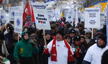 محافظه کاران هارپر، دوستان اتحادیههای کارگری نیستند