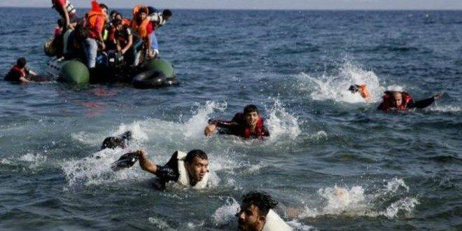 بحران پناهجویی و برخورد قایقهای شکسته به صخره اروپایی