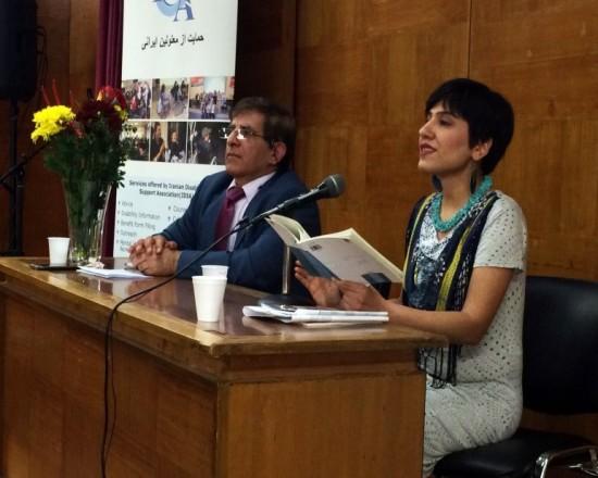گزارشی از مراسم گرامیداشت روز جهانی معلولین در لندنسال۲۰۱۵