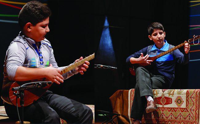 حافظ و وریا کریمی موفق به کسب رتبهی اول و سوم نهمین جشنوارهی موسیقی جوان ایران شدند