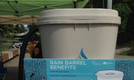 پیشنهاد شهر ونکوور: ذخیره آب باران برای استفاده در باغبانی