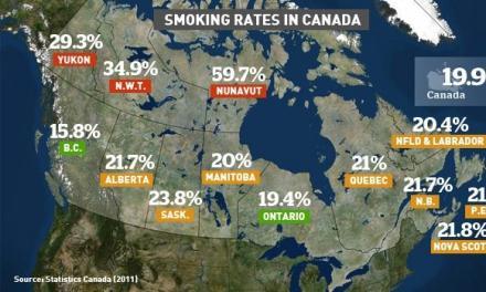 قوانین تازه برای عرضه سیگار در کانادا
