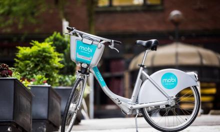 دوچرخههای کرایهای موبی به شهر ونکوور رسیدند