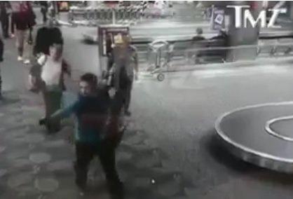 shooter-santiago-airport