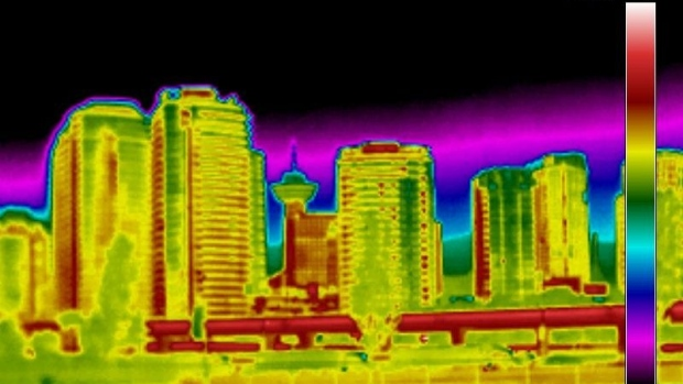 thermal-imaging-vancouver-downtown