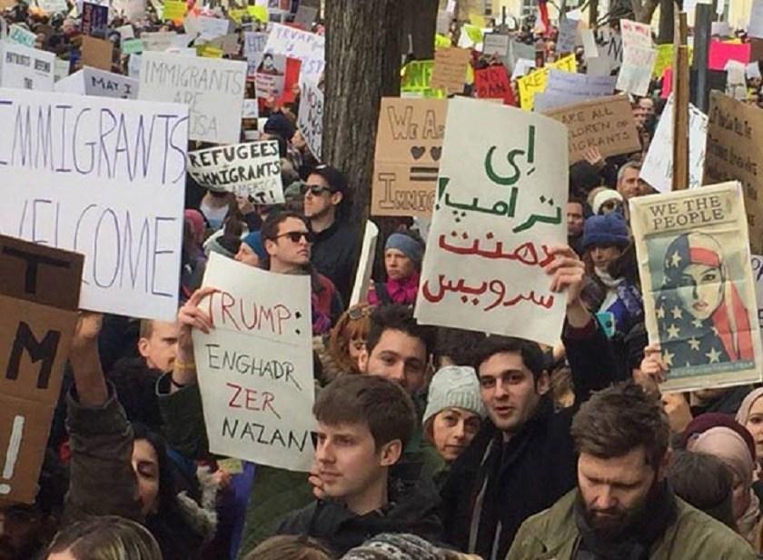 Anti-Trump-Protest