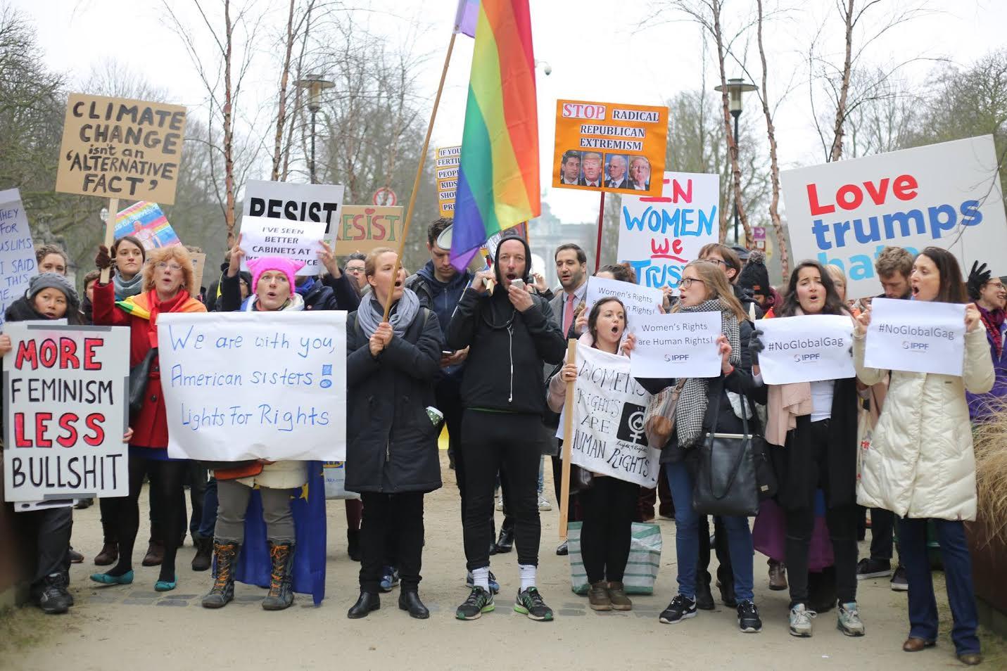 Women action in belgium