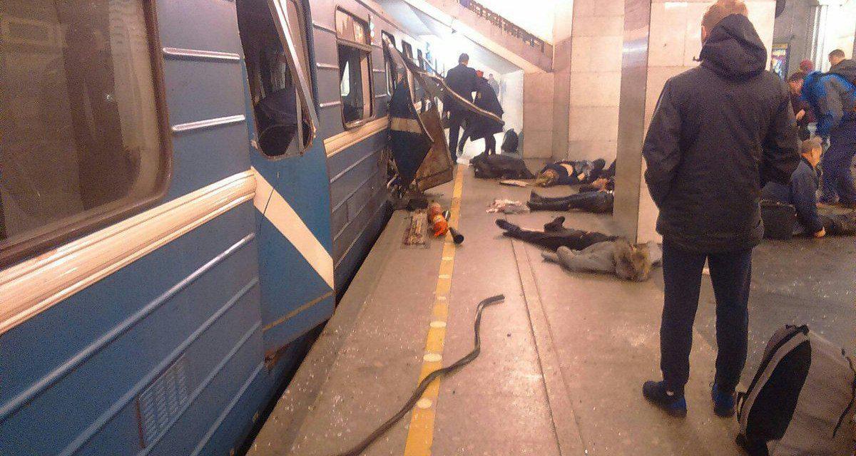 """انفجار متروی سن پترزبورگ و """"مشت آهنین"""" پوتین"""