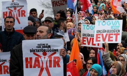 ترکیه در مسیر استبداد سلطنتی