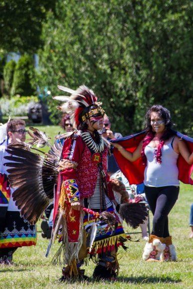 آلبوم عکس: روز ملی بومیان در شهر ونکوور