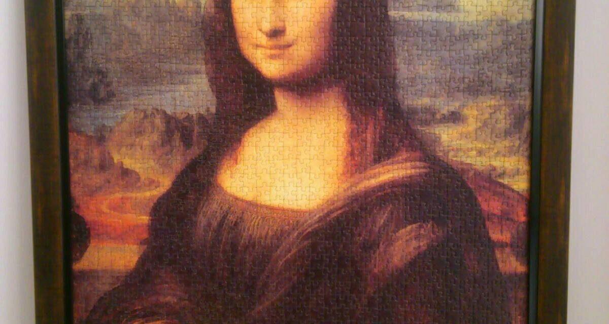 مونالیزا در قاب
