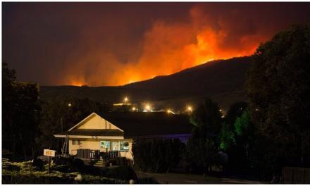افزایش فزاینده آتشهای بریتیش کلمبیا به کمک تغییر اقلیم