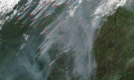 آلبوم عکس: زمین غرق در آتش