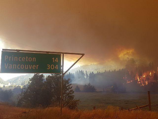 تمدید وضعیت اضطراری آتش در بیسی تا نیمه سپتامبر