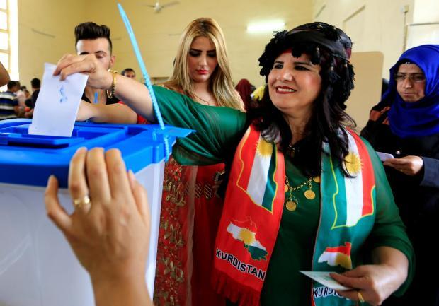 تحولات, همه پرسی , استقلال کردستان, بغداد و اربیل , جنگ