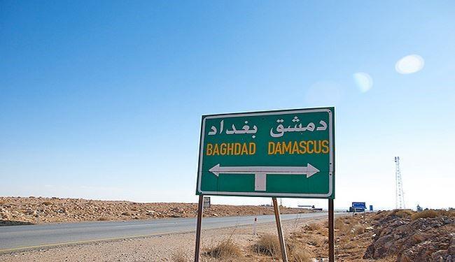 طريق بغداد دمشق سالك خلال اسابيع