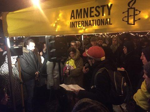تظاهرات اعتراضی علیه حکم اعدام