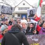 گزارش تظاهرات ایرانیان دموکرات و آزادیخواه ساکن بلژیک