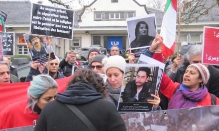 """""""گزارش تظاهرات ایرانیان دموکرات و آزادیخواه ساکن بلژیک در همبستگی با مردم معترض در ایران"""""""