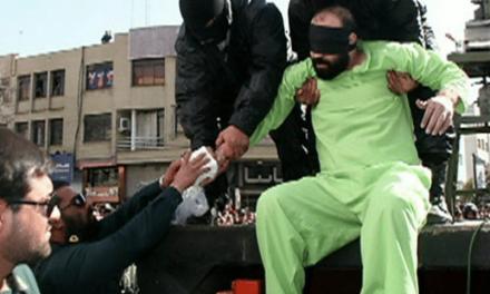 قطع دست سارق گوسفند با گیوتین در مشهد