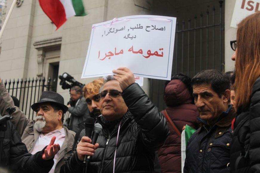 Photo-by-Mahin12 چگونه جنبش مردم در داخل ایرانبه خارج از کشور جان داد