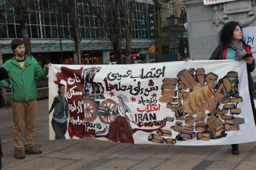 Photo-by-Mahin35 چگونه جنبش مردم در داخل ایرانبه خارج از کشور جان داد