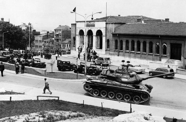 TURKEY-COUP-TROOPS-1960