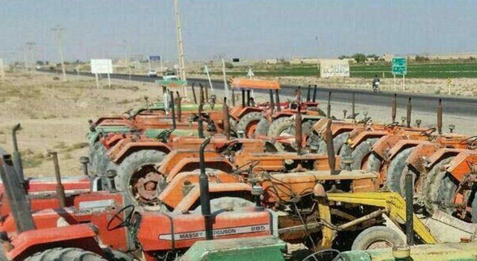 ورزنه اصفهان؛ دو هفته است کشاورزان اعتصاب کردهاند