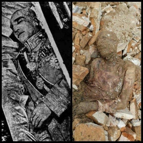 غوغای یک جسد؛ این رضاشاه است؟