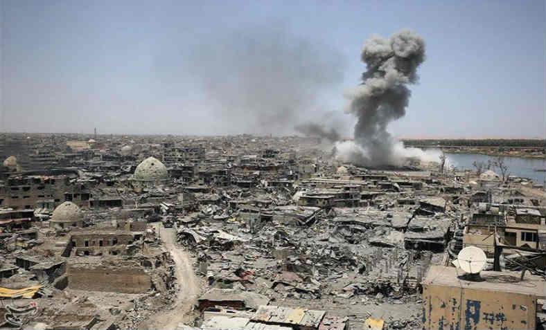 Airstrike-in-Mosul