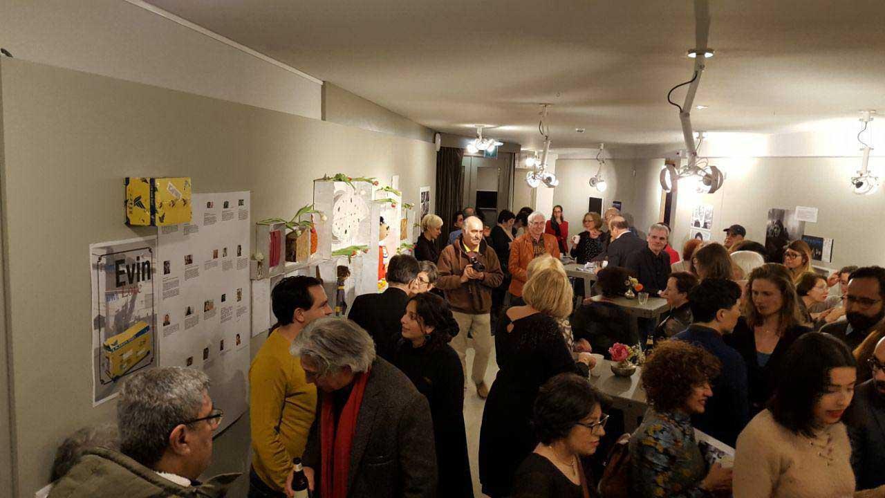 Evin-Exhibition-13s پایان نمایشگاه از اوین با عشق و آغاز کار وبسایت موزه جنبش زنان
