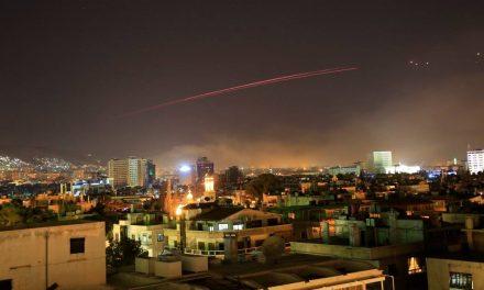 تجاوز نظامی ۳ کشور آمریکا، انگلیس و فرانسه به سوریه