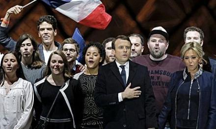 «فرانسه نافرمان» در مقابل رئیس جمهوری «نئولیبرال»