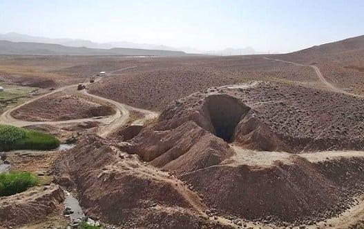 تخریب مشکوک سد ۲۵۰۰ ساله دوران هخامنشی