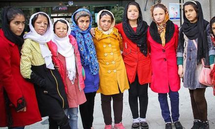 این چهرهها پرچم محرومیت دخترکان ایران زمیناند!