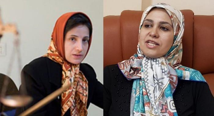 بازداشت غیرقانونی بانوان نسرین ستوده و زینب طاهری را محکوم میکنیم