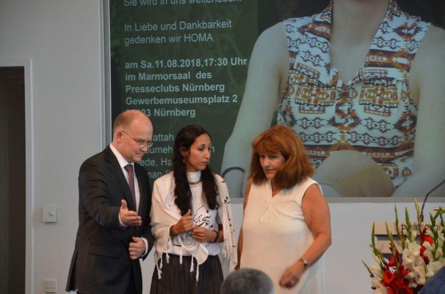 Photos-by-E_ALEF-12 گزارشی از مراسم نکوداشت هما سلطانی در شهر نورنبرگ