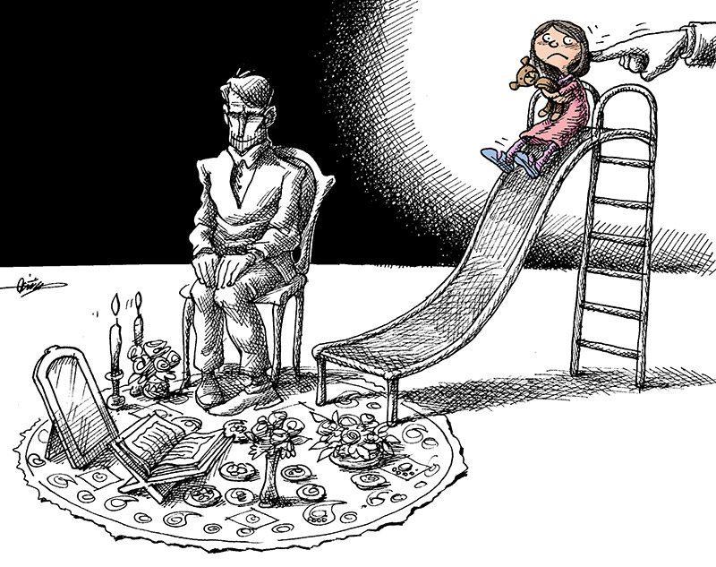 تجاوز سفید در پس ازدواج …