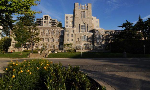 دانشگاه بریتیش کلمبیا (UBC) دومین دانشگاه برتر کانادا شناخته شد