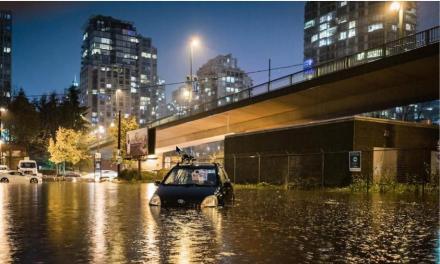 پس از هوای فوقالعاده آفتابی و خشک، باران بهقصد انتقام به ونکوور بازگشته است